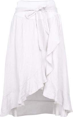 M Made in Italy Women's Wrap Skirt