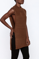 Babel Fair Knit Sleeveless Top