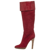 Giuseppe Zanotti Red Leather Boots