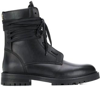 Amiri Combat Boots