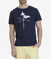 Nautica Flag and Sail Graphic Short-Sleeve T-Shirt
