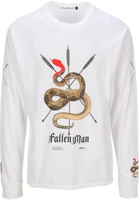 Undercover Snake Graphic Print T-Shirt