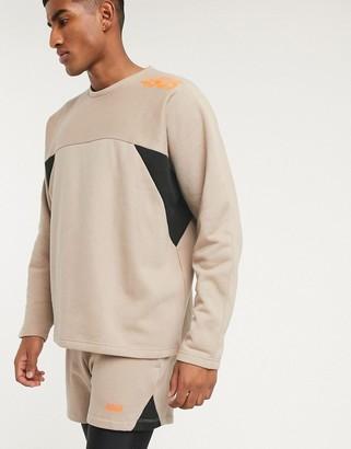 ASOS 4505 Oversized Sweatshirt With Strap Detail