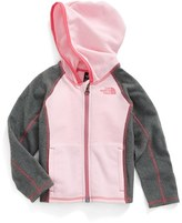 The North Face Toddler Girl's Glacier Fleece Hooded Jacket