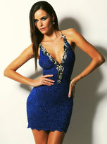 Baccio Couture - Mia - 2346 Painted Short Dress