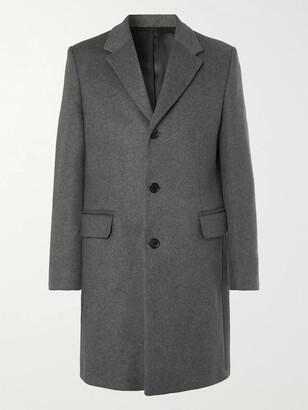 Acne Studios Melange Wool-Blend Overcoat