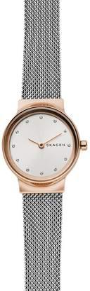 Skagen Freja Two-Tone Steel-Mesh Watch, 26mm