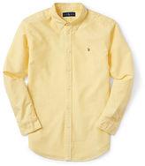 Ralph Lauren Solid Cotton Oxford Shirt