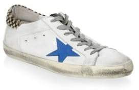 Golden Goose Star-Patch Low-Top Sneakers