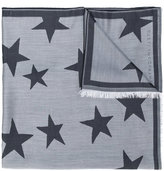 Stella McCartney star patterned scarf - women - Silk/Modal - One Size