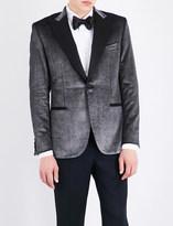 Brioni Regular-fit velvet jacket