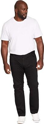 Johnny Bigg Big Tall Benny Stretch Five-Pocket Pants (Black) Men's Casual Pants