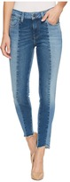 Mavi Jeans Tess High-Rise Super Skinny Ankle in Mid Shaded Blocking Gold Icon Women's Jeans