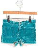 Bonpoint Girls' Mid-Rise Mini Shorts