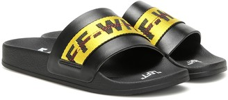 Off-White Exclusive to Mytheresa Industrial slides