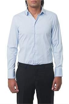 Emporio Armani Cotton Shirt Light Blue