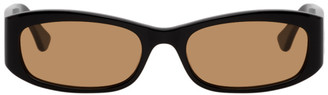 Port Tanger Black and Brown Leila Sunglasses