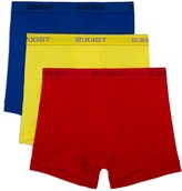 2xist Cotton Boxer Briefs - Pack of 3