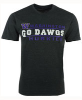 Colosseum Men's Washington Huskies Verbiage Stack T-Shirt