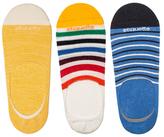 Etiquette Clothiers No Show Roppongi, East River and Sailor Stripes Ped Socks (3 PK)