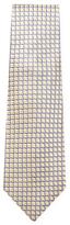 Armani Collezioni Geometric Jacquard Silk Tie