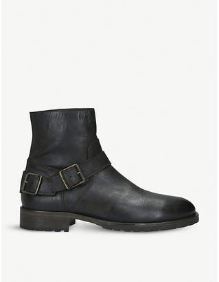 Belstaff Trialmaster leather boots