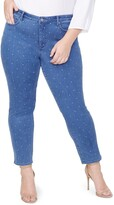 NYDJ Curves 360 By Slim Straight Ankle Jeans