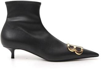 Balenciaga BB Plaque Sock Boots