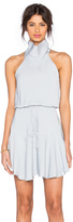 Shona Joy Stellar High Neck Mini Dress