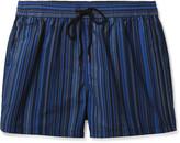 Paul Smith Mid-Length Striped Swim Shorts