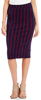 Soulmates Jacquard Skirt