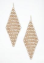 Bebe Tiered Chainlink Earrings
