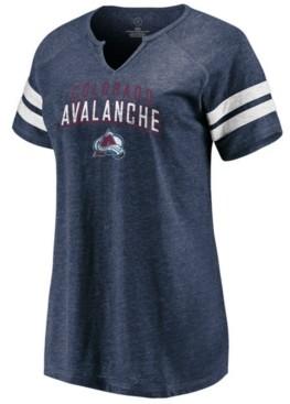 Majestic Women's Colorado Avalanche Net V-Notch T-Shirt