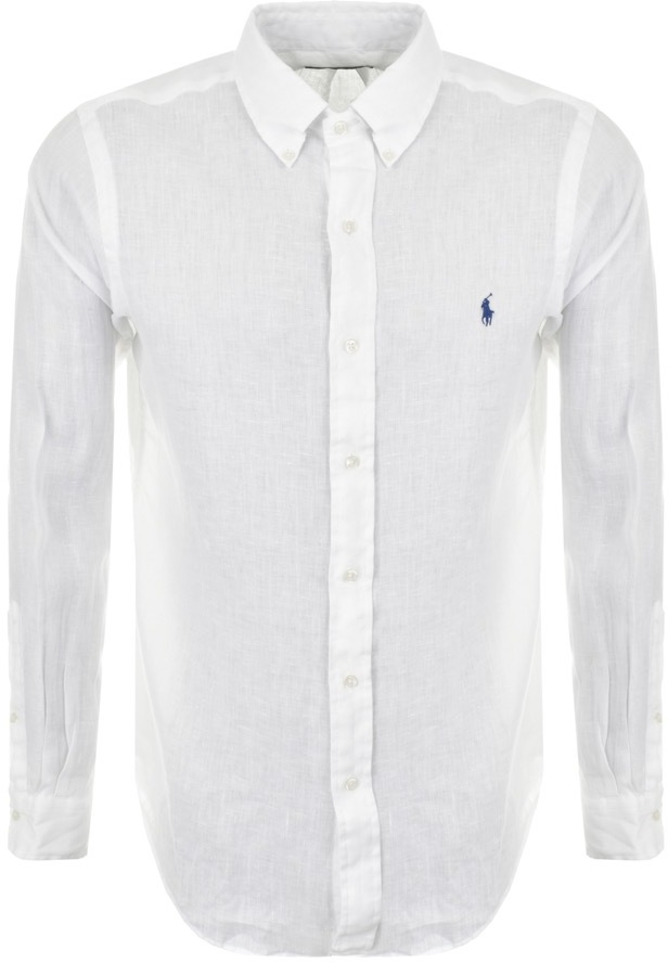 Ralph Lauren Linen Shirt White