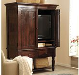 Pottery Barn Mason Media Armoire - Rustic Mahogany finish