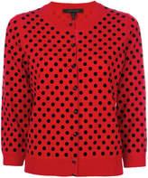 Marc Jacobs polka dot cardigan