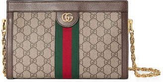 Gucci Linea Dragoni Small GG Supreme Canvas Chain Shoulder Bag