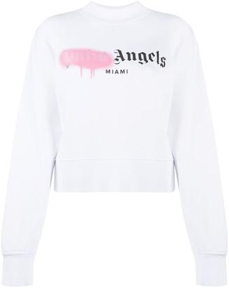 Palm Angels Miami Sprayed sweatshirt