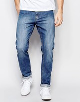 Dr Denim Jeans Steve Regular Straight 70s Stone Wash
