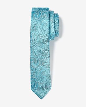 Express Narrow Paisley Tie