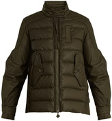 Moncler Claire quilted-down cotton jacket
