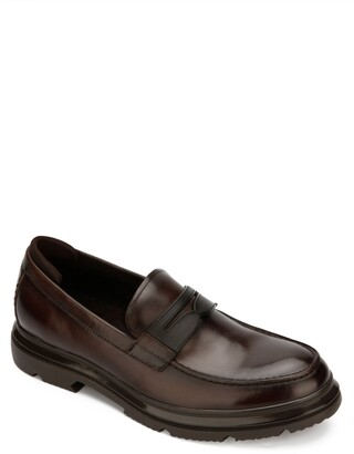 Kenneth Cole New York Carter Slip-On Lug Sole Penny Loafer
