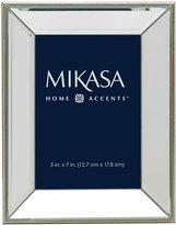 Mikasa 5 x 7 Champagne Mirror Frame
