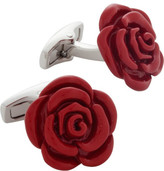 Alta Linea Red Rose Resin Cufflinks