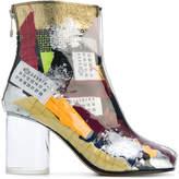 Maison Margiela patchwork ankle boots
