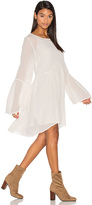 Lacausa Seashell Mini Dress in White. - size S (also in )