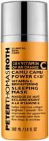 Peter Thomas Roth Camu Camu Power C X 30 Vitamin C Brightening Sleeping Mask