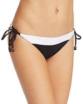 Shoshanna Color-Block Bikini Bottom