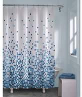 Bed Bath U0026 Beyond Matrix Geo Shower Curtain In Blue