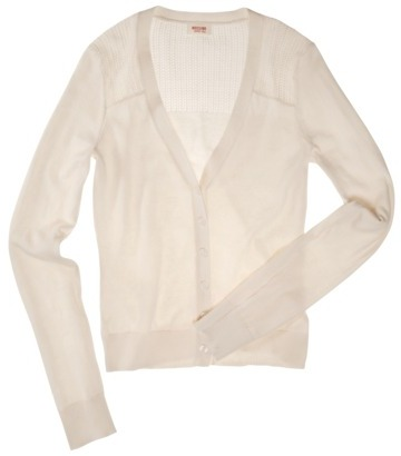 Mossimo Juniors Open Weave Cardigan - Assorted Colors